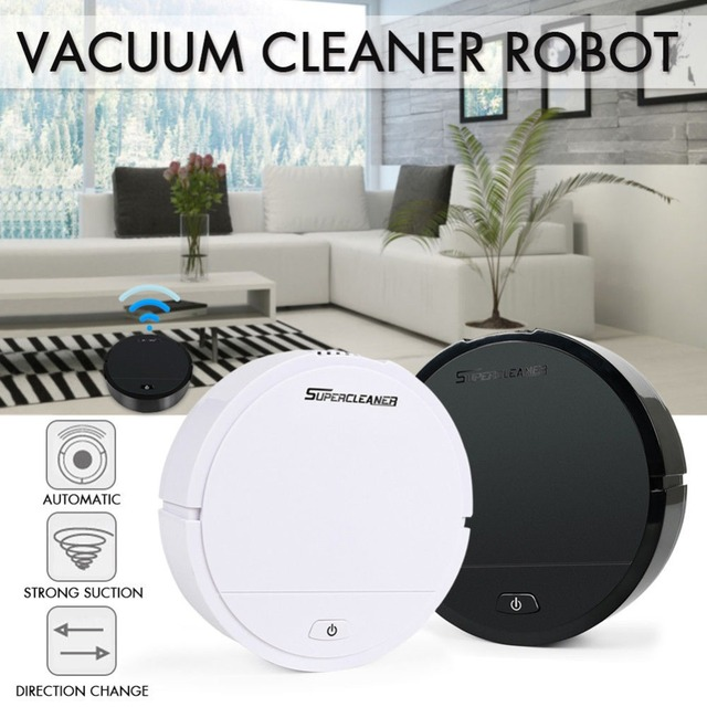 Automatic Sweeping Dust Sweeping Smart Floor Cleaning Robot Wet Dry Mop Robot Vacuum Cleaner For House Home Office Garden