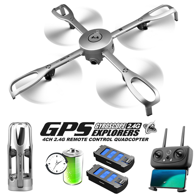 Drones With Camera HD Professional 5G WiFi GPS Positioning Return Flight Foldable Rc Dron 1080P Aerial Photography FPV Drone gps