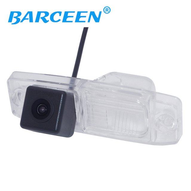 Free shipping Hot Selling Rear view camera for Hyundai Sonata 2011 with image sensor waterproof and distance reference line