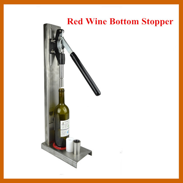 Red Wine Bottle Stopper Stainless Steel Manual Pressure Tool Bar Kitchen Openors Free Shipping