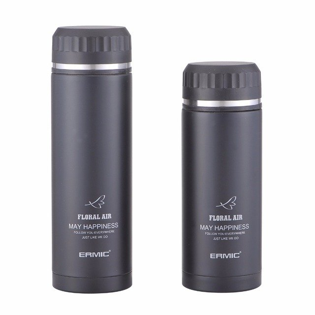 Thermos Cup 500ML/350ML Candy Color Stainless Steel Thermo Insulated Thermos Coffee Mug Bottle Car Heat Mug Vacuum Thermocup