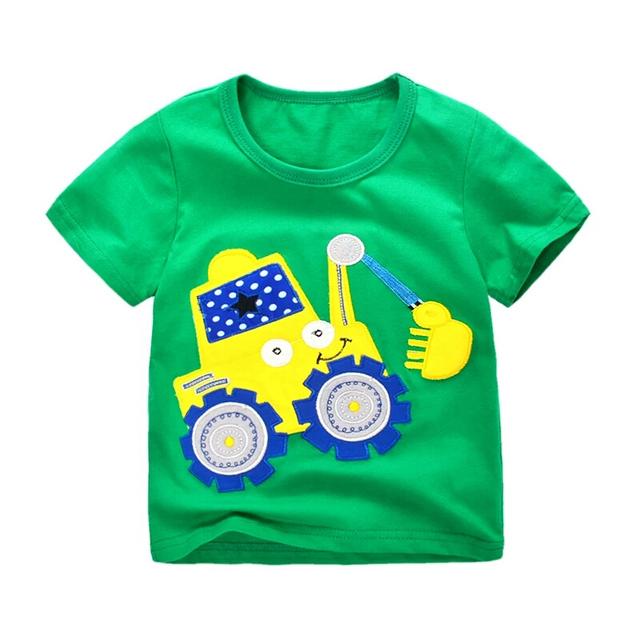 Retail Brand Free shipping 2018 new arrival boys t-shirts t shirt for baby boy tops blouse childrens kids&baby  clothes 64-84