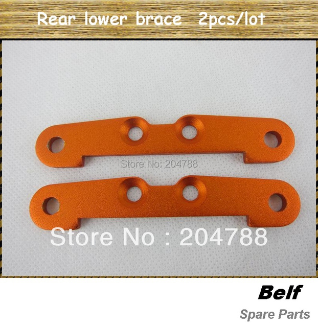 Free shipping! Baja metal parts, rear lower brace, wholesale and retail