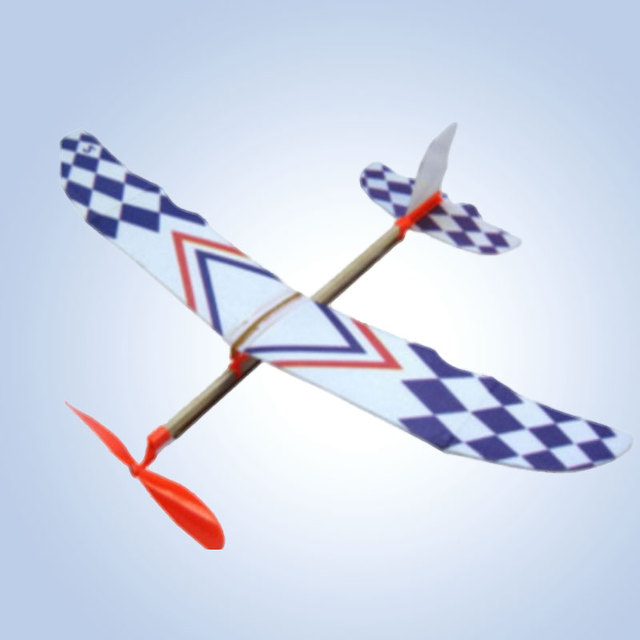 Flying Glider Planes Aeroplane Model Toys Rubber Band Childrens Gift Fantastic
