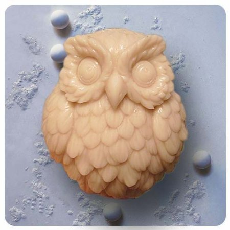 Owl S0142 Craft Art Silicone Soap mold Craft Molds DIY Handmade soap molds