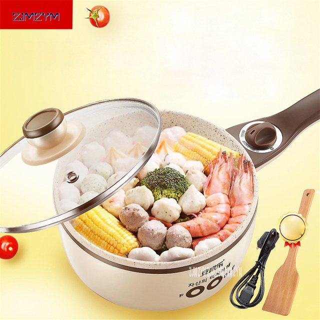 Mini Electric Food Steamers Pans Multifunctional Small Electric Hot Pots Heating Cup 1.5L for Steamer /Boiled /Cooking AJL-G158