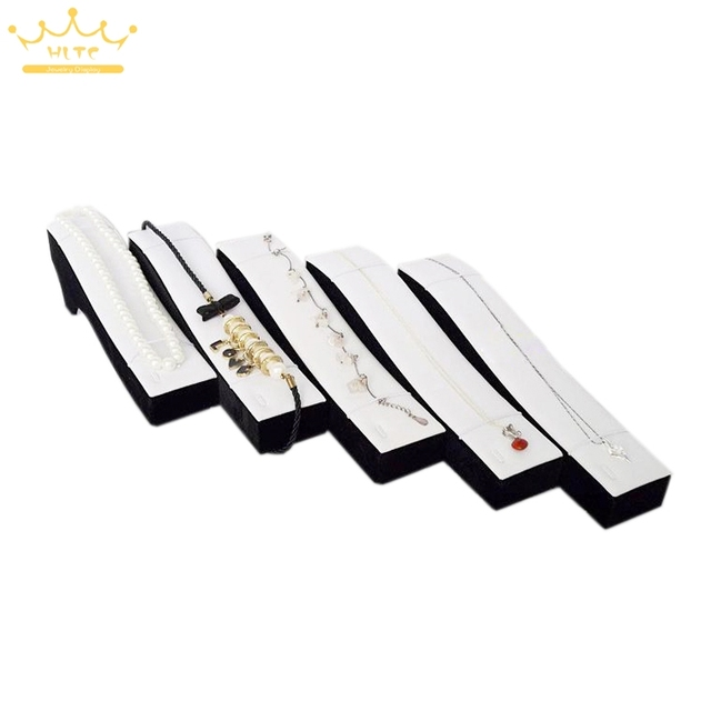 Free EMS Jewelry props jewelry packaging of crystal agate display rack silver platinum diamond white color bracelet 10pcs/Lot