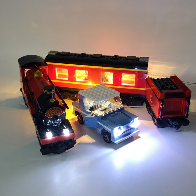 LED light up kit (only light included) for  4841 and 16031 train Express  ( blocks set not included)