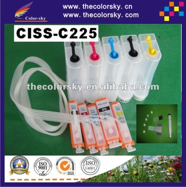 (CISS-C225) CISS continuous ink supply system for Canon pgi225 pgi 225 pgi-225 PIXMA IP4820 MG5120 MG5220 MG6120 MG8120