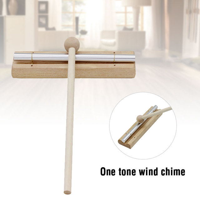 High Quality Percussion Instrument Energy Chime Single Tone with Mallet Exquisite Kid Children Musical Instrument Toy