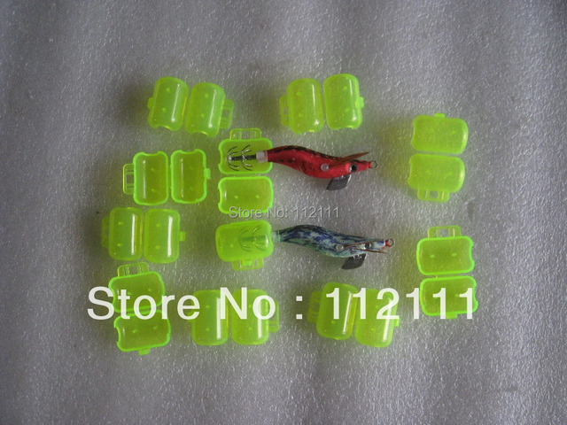 100pcs  hooks protector ,for small squid jigs(yellow ),fishing tackle,fishing accessories