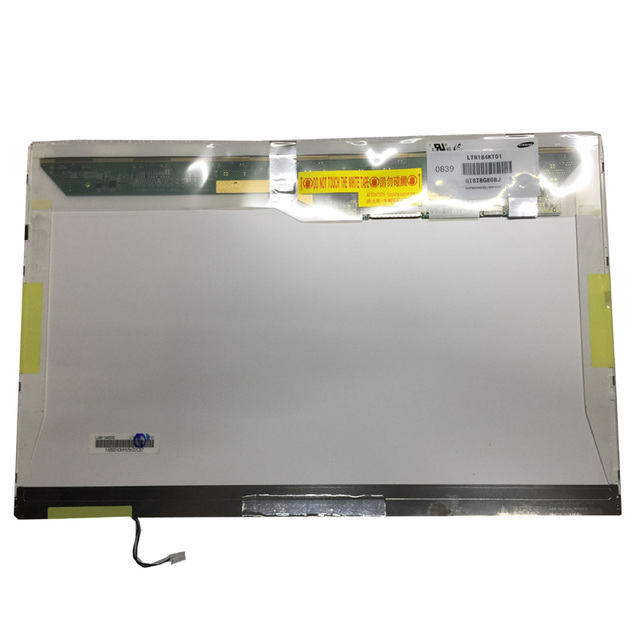 Grade A+ LTN184KT01 LTN184KT02 18.4 Laptop Glossy LCD Screen Panel Matrix 1680*945 1 CCFL 30Pin