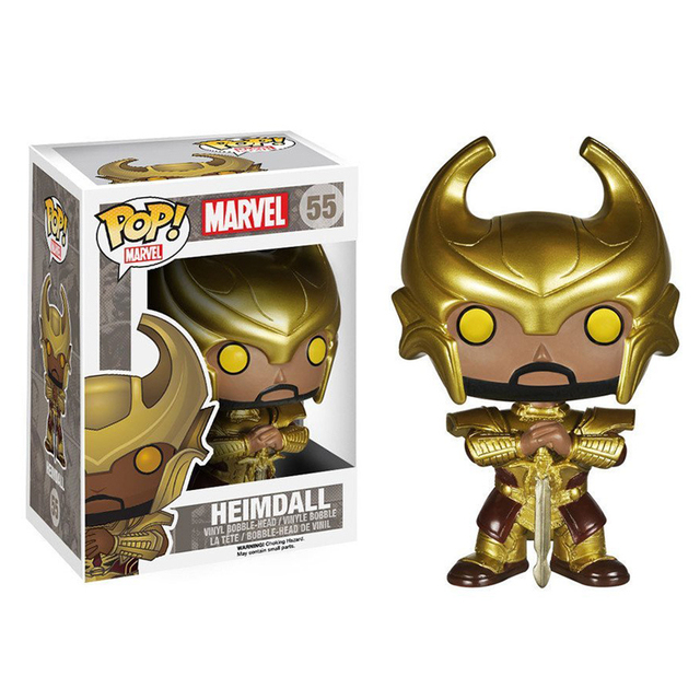 Funko pop Official Marvel: Heimdall Vinyl Action Figure Collectible Model Toy with Original Box