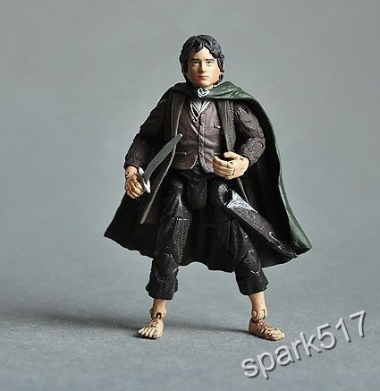 Lord of the Rings  FRODO ACTION FIGURE -Toy Biz