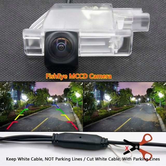 HD Dynamic Trajectory Tracks Rear View Reverse Camera for Peugeot 2008 2014 2015 2016 Car Parking Backup Monitor Wirelss
