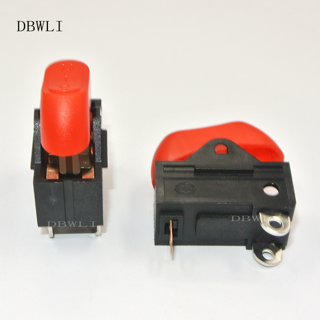 5 PCs Hair dryer switch,Rocker Switch 3 position ON OFF boat switch