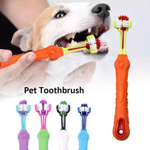 PP Cleaning Brush ToothBrush Brush Comfortable Healthy Pet Dog Accessories