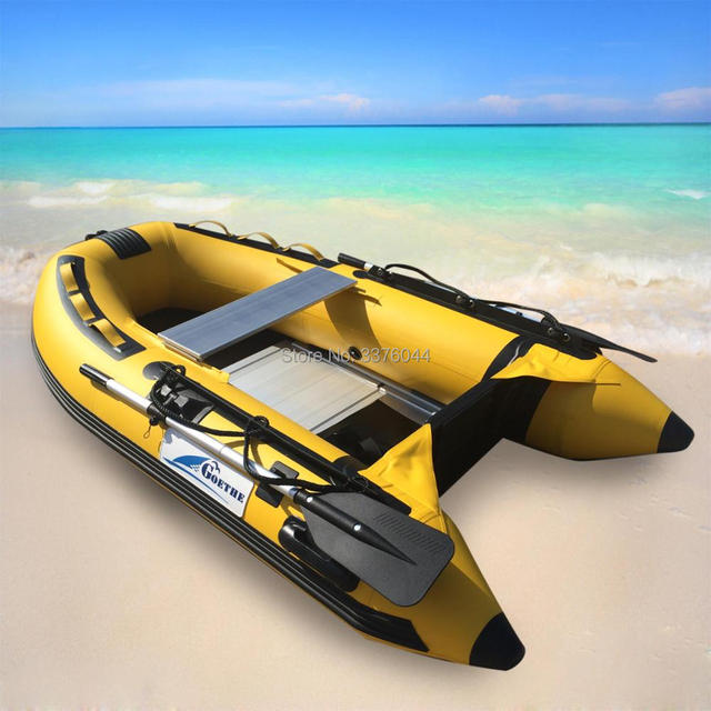 GTS230 Factory Direct Sale 2 People Inflatable PVC Boat Rubber Boat  Fishing Boat