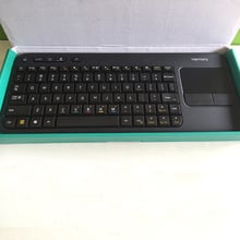 Free Shipping!Logitech harmony K400R USB Wireless Touch Keyboard Keypad K400 Pro Plus Muti-media Win8