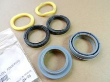 2pcs Bicycle Front Fork Dust Seal /&Foam Ring Repair Front Fork Dust Kits Parts