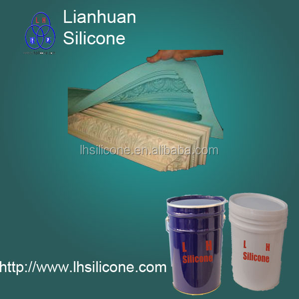 rtv2 silicone rubber for cement stone / plaster moulds