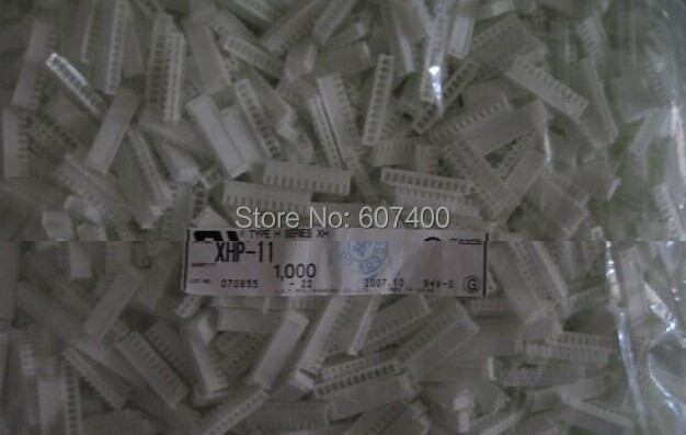 XHP-11 CONN HOUSING 2.5MM XH 11POS housings White color Connectors terminals housings 100% new and original parts