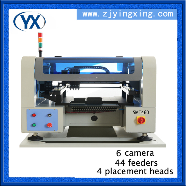 2017 Hot Selling With 44feeders and 6pcs camera PCB Soldering Machine for 0402,0805,QFN,QFP,BGA Solar Mounting System