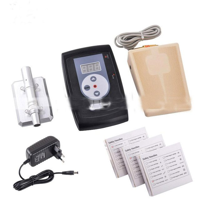 Permanent Makeup Pen Machine Kit eyebrow tattoo machine power supply tattoo makeup equipment tool set shipping by DHL