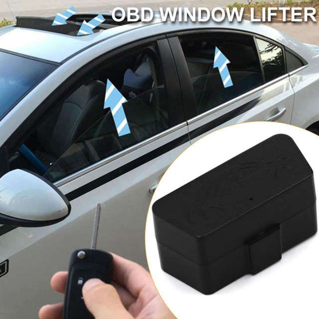 Vehemo OBD Automatic Vehicle Window Closer Auto Window Closer Door Durable Vehicle Glass Closing Module System
