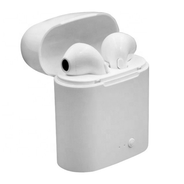 i7s TWS Mini Wireless Bluetooth Earphone Stereo Earbud Headset With Charging Box Mic For Iphone and All Smartphone
