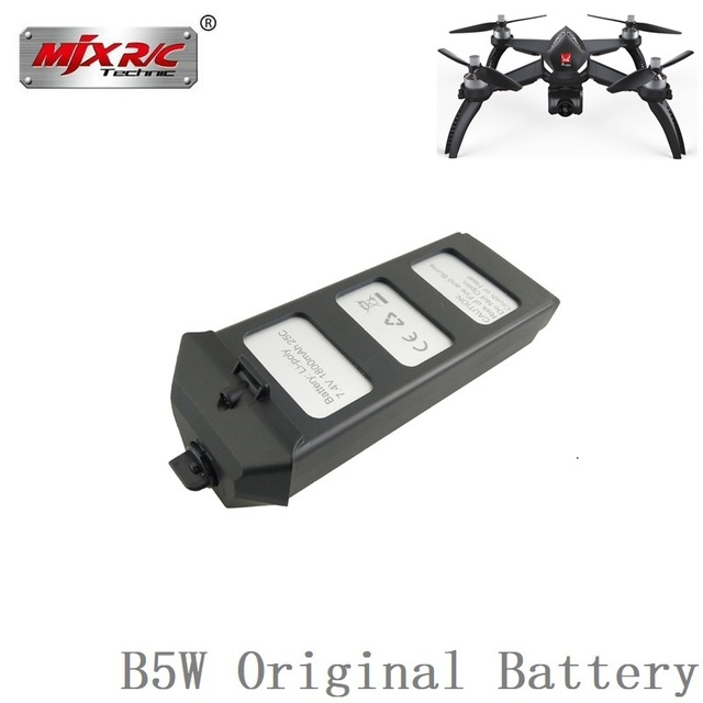 Original For MJX R/C Bugs 5W B5W RC Helicopter battery 7.4V 1800mAH 25c LiPo Battery RC Quadcopter drone spare parts accessories