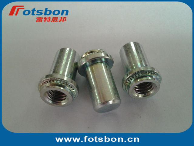 BS-632-2  Blind press-in  Nut, PEM standard self-clinching nuts, stainless steel 303, in stock