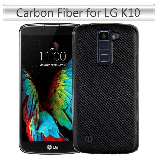 For LG K10 LTE 4G K430 cover ultra-thin light soft Tpu layer case for LG K 10 shell cover non-slip anti fingerprint back case