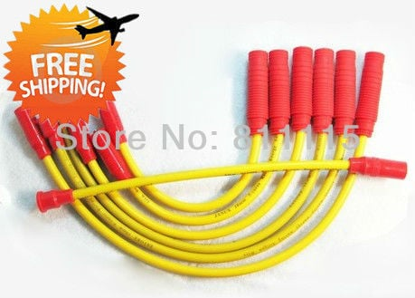 Spark Plug high-voltage ignition wire set for VW Golf 1.8, 5 valve, ignition cable, Sub-cylinder line, free shipping!!