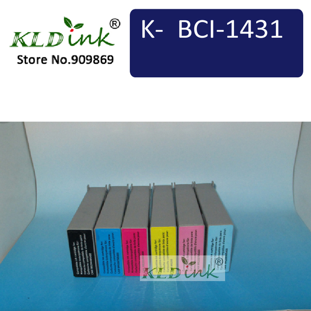 6pcs BCI-1431 Ink Cartridges for W6200 and W6400 Series