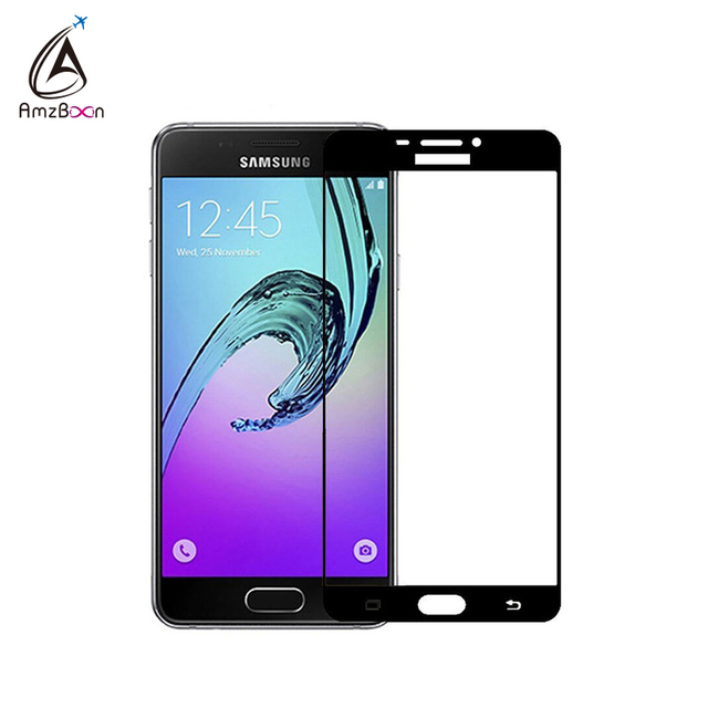 Amzboon 2.5D 0.33mm Full Screen Cover 9H Hard Screen Protector Tempered Glass For Samsung Galaxy A5 2016 Glass Film For A5 2016