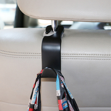Car Organizer Storage Holder Car Seat Back Hook For Bags Vehicle Headrest Hanger Clips For Shopping Bag Car Accessories