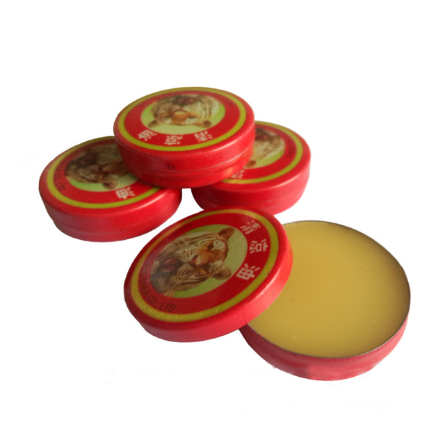 10Pcs Chinese Tiger Balm Red Refresh Oneself Treatment Of Influenza Cold Headache Dizziness Muscle Massager Relax Essential Oil
