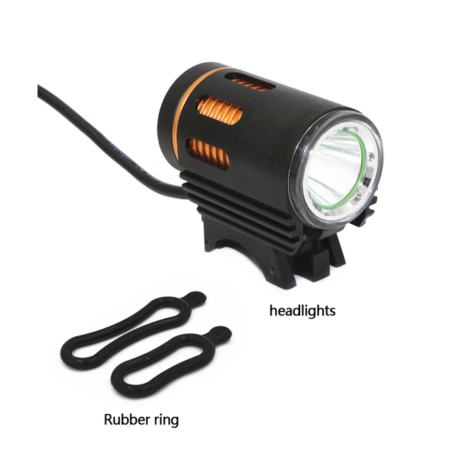 3000LM XM-L2 LED Bicycle flashlight Bike DC Port Front Lamp Head Bicycle 4 Mode Bike Lamp Light Headlight Torch