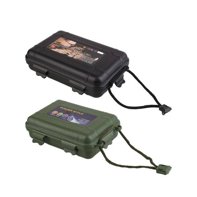 Plastic Flashlight Torch Laser Pointer Outdoor Tools Case Carry Box 1#