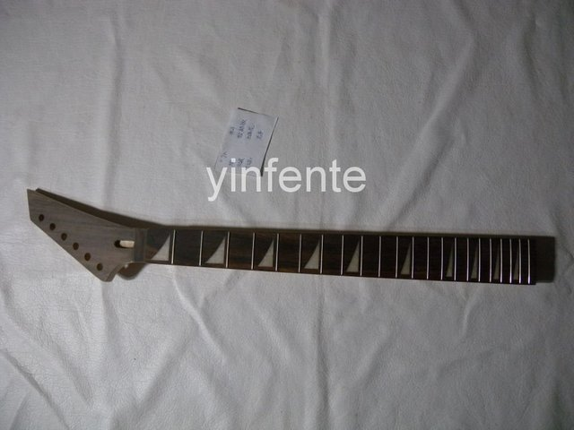 New High Quality Unfinished electric guitar neck Solid wood Body &  fingerboard JACKSON model 1pcs #3