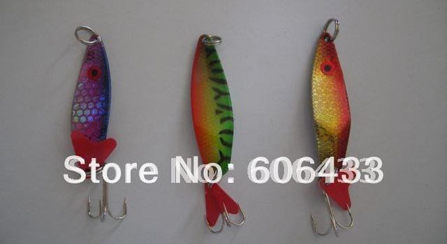 Fishing Spoon Lure lures Hook Spinner baits 5cm 7g 3PCS/lot