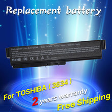 JIGU Laptop Battery For Toshiba M800 M801 M805 M808 M820 M823 M900 M802 M806 M810 M821 M825 T130 Satellite A660 C645D C655D