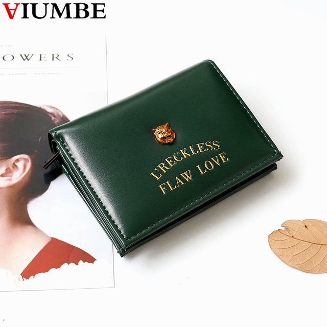 2018 New Casual Hasp Wallet Female Lady Short Women Wallets Mini Purses Fold PU Leather Small Money Bags Coin Purse Card Holder