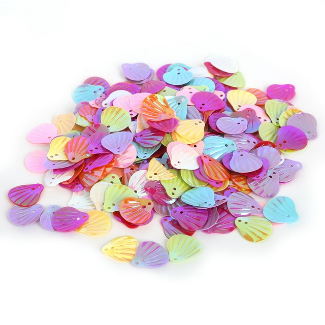 400pcs/lot Mixed Color Loose Sequin for DIY Arts Crafts Clothing Accessories Scrapbooking Wedding Jewelry Making Festival Decora