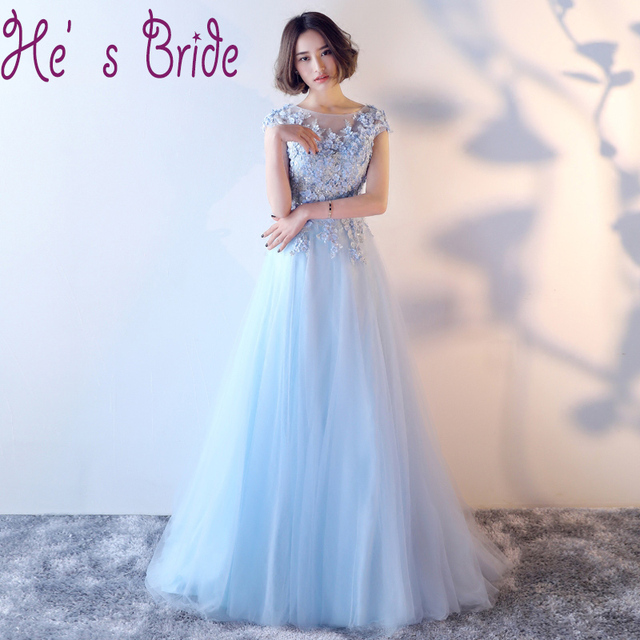 Plus Size Evening Dress  Lace Flowers Tulle Long Luxury Floor-length Appliqued Party Prom Banquet Formal Gown Robe De Soiree