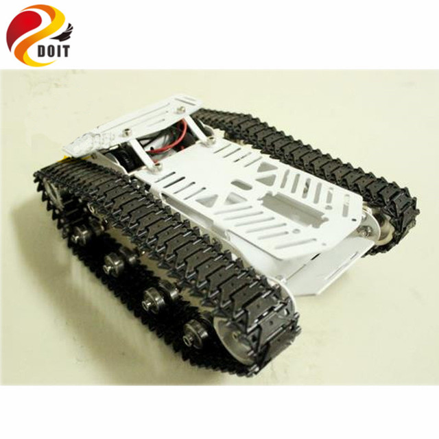 Official DOIT Full Metal Tank Car Chassis /All Metal Structure Big Size Load Large/ Obstacle-surmounting Tank Chassis