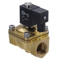 Free Shipping 5pcs/Lot G1/2'' Size Direct Drive Solenoid Valve Model PU220-04A 2/2 Way Brass N/C