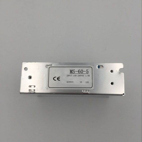 Small Volume Single Output mini size Switching power supply MS-60-5 60W 5V 12A ac dc converter