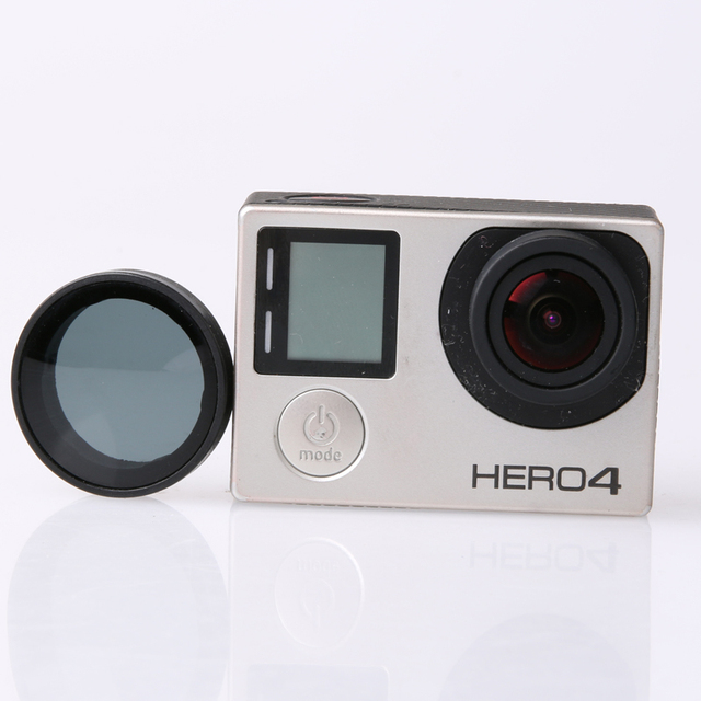 GO PRO HERO4 Accessories,ND filter / Neutral density  / Lens Filter for Gopro Hero 4 / 3+ / 3 action camera (with tracking code)